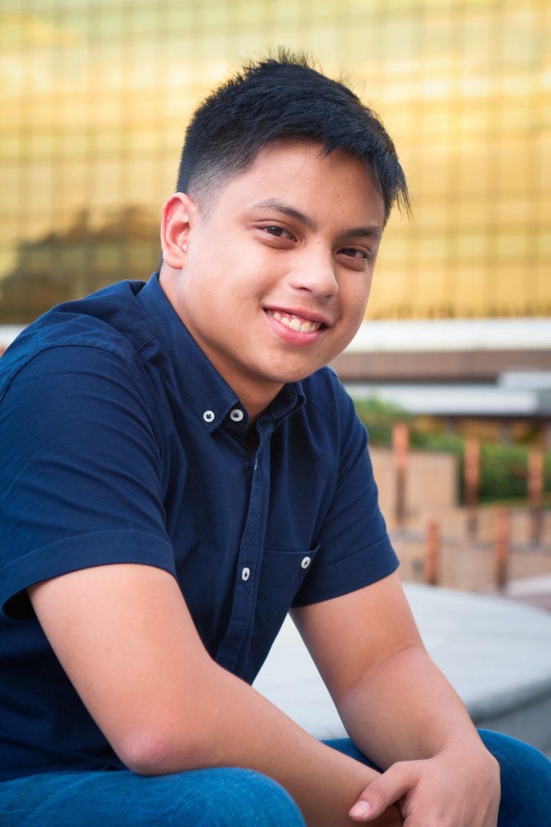 Daniel Lumain of #TeamAkaba (Photo by Jericho San Miguel)