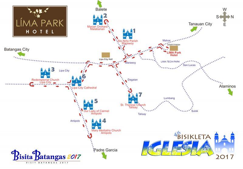 Bisikleta Iglesia Map