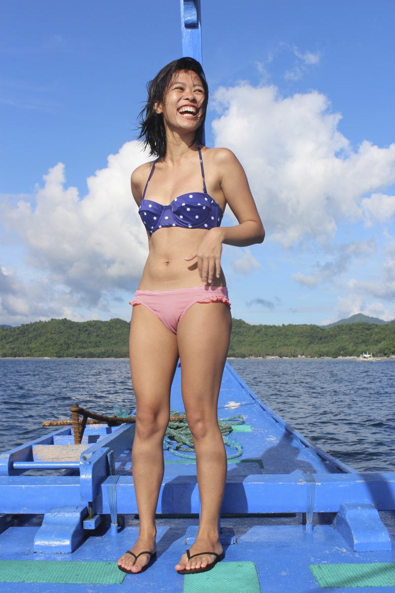 Chrissie vacationing in Palawan