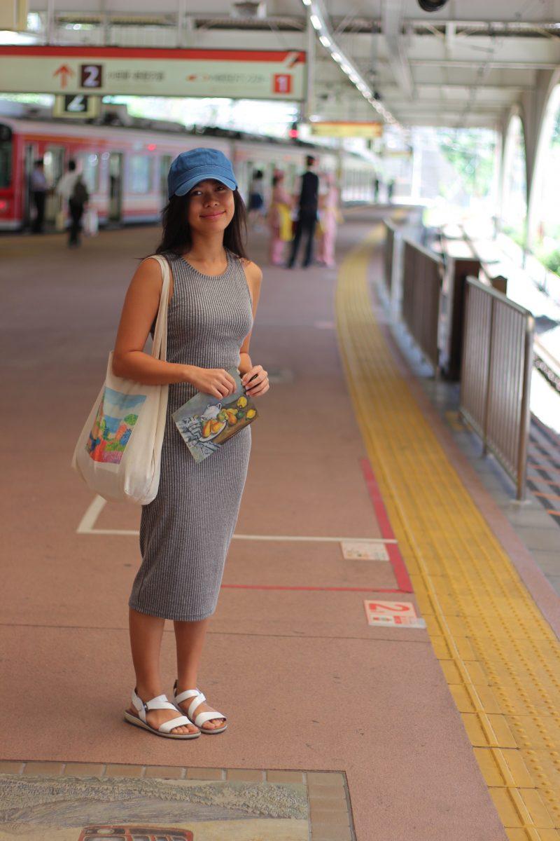 Chrissie in Tokyo