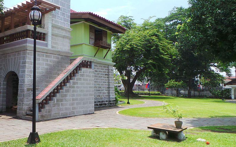 The Bahay na Bato house of Mercado-Rizal Family