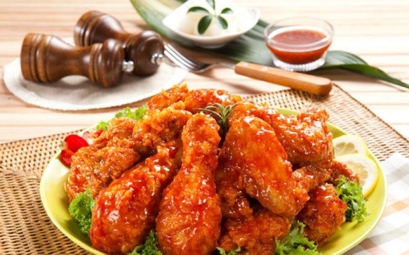 Korean_fried_chicken_2_yangnyeom