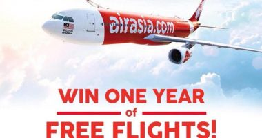 AirAsia Gives Away One Year of Free Flights